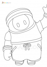 Fall Guys Coloring Pages | 21 New ...raskrasil.com