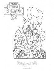 Fortnite Ragnarok Coloring Page - Super Fun Coloring