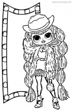 L O L Surprise Doll Png Lol Doll Coloring Pages Transparent Png Vhv Coloring Home