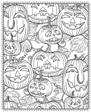Printable Halloween Coloring Pages For Adults | POPSUGAR Smart Living