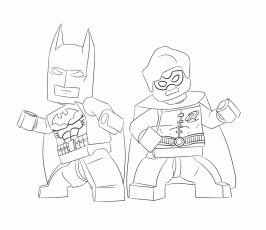 Lego Batman Coloring Pages. lego batman and robin coloring pages ...