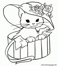 Coloring Book : Kitten Coloring Pages Cat Online Free To ...