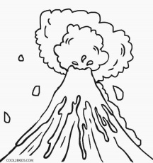 volcano coloring pages cool2bkids