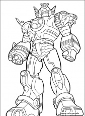 online printable Power Rangers Megazord coloring pages - Enjoy ...