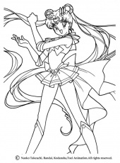 SAILOR MOON coloring pages - Sailor Moon