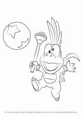 lemmy koopa coloring pages – Vingel