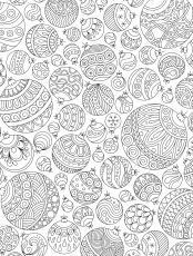 Christmas Adult Coloring Page