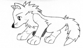 15 Pics Of Cartoon Zombie Wolf Coloring Pages - Demon Wolf ...