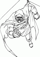 Doctor doom on the prowl coloring pages ...hellokids.com