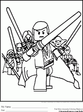 Star Wars Coloring Page - Coloring pages