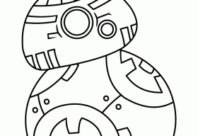 Bb8 Coloring Page at GetDrawings.com | Free for personal use ...
