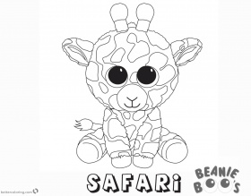Ty Beanie Boos Coloring Pages At Getdrawings Com Free For Coloring Home
