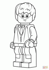 Lego Harry Potter coloring page | Free Printable Coloring Pages