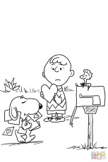 10 Pics of Peanuts Valentine's Day Coloring Pages - Snoopy ...