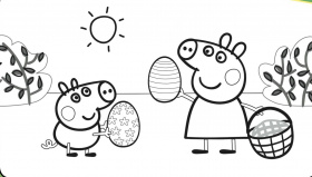 Suzy Sheep Peppa Pig Coloring Pages