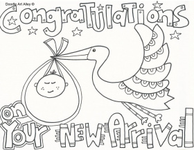 Free Baby Shower Coloring Pages Printables Baby Shower Coloring ...