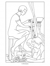 diego rivera coloring page