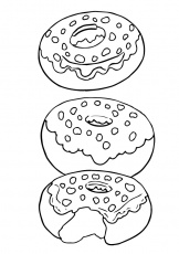 ▷ Donut: Coloring Pages & Books - 100% FREE and printable!
