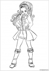 descendants 2 uma coloring pages descendants 2 uma coloring ...