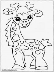 Simple Safari Animal Coloring Pages Safari Animals Coloring Pages ...