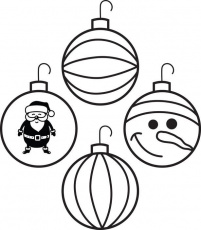 free, printable christmas ornaments coloring page for kids #4 ...
