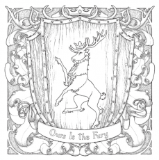 game of thrones coloring book baratheon | Coloring books ...