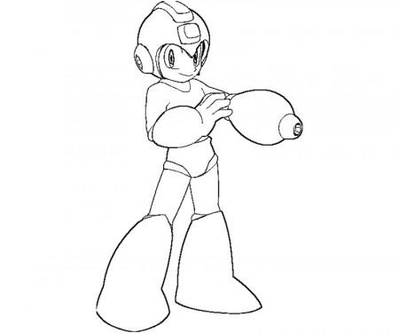 megaman printable coloring pages | flecks of... gray? - coloring home - Mega Man Printable Coloring Pages