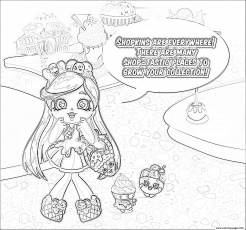 Print shopkins strawberry kiss coloring pages az for Strawberry kiss shopkins coloring page