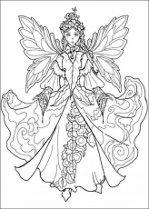 Adult coloring pages etc | Fairy ...