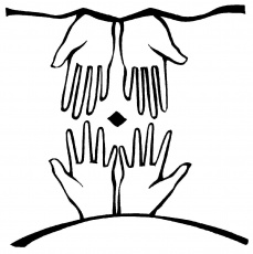 Praying Hands Coloring Page - ClipArt Best