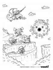 FREE Digital Download Coloring Page #4! - Shenanigans - Woot