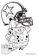Dallas Cowboys Coloring Pages - fablesfromthefriends.com