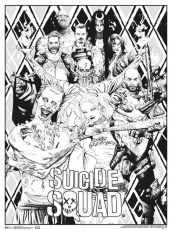 Suicide Squad Coloring Pages | 124 | Coloring pages, Adult ...