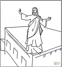 Jesus Is The Light Of The World Coloring Page - Printable Coloring ...