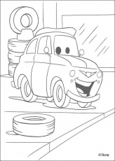Cars coloring pages : 46 free Disney printables for kids to color ...