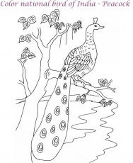 busy village Colouring Pages