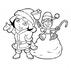 Dora The Explorer Coloring Pages For Fun And Creativity