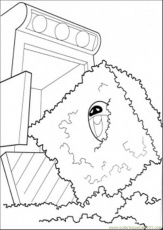 Coloring Pages Eva In The Trash (Cartoons > Wall-E) - free