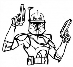 Star Wars Coloring Pages Captain Rex | Online Coloring Pages