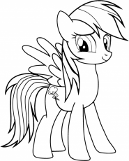 Fluttershy And Rainbow Dash Coloring Pages Drawing And Coloring