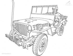 jeep coloring pages for kids