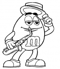 printable m&m coloring pages | Color On Pages: Coloring Pages for Kids
