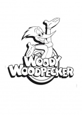 Woody Woodpecker Coloring Page | Woody Woodpecker Coloring Page | Pin…