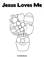 exemstimil: coloring pages jesus loves me