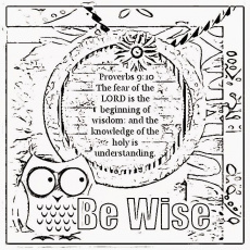 Childrens Gems In My Treasure Box: Wisdom Coloring Sheets 2