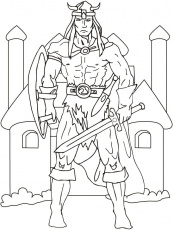 Viking Coloring Pages | Coloring Pages