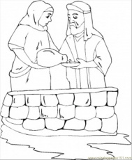 Coloring Pages Abraham And Sarah (Other > Religions) - free