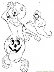 Scooby Doo Coloring Pages Page 1 Page 2 | Cartoon Coloring Pages