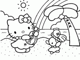 Kitty Coloring | Printable Coloring - Part 10