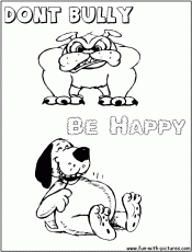 bullying coloring pages. interesting bullying colouring pages with ... - Bullying Coloring Pages Printable